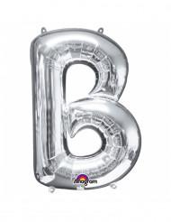 Palloncino alluminio gigante lettera B color argento