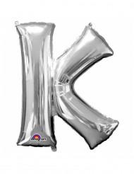 Palloncino alluminio gigante K argento 66 x 83 cm