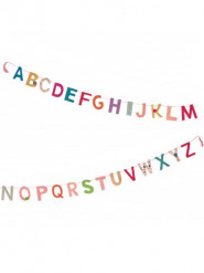 Mini ghirlanda alfabeto