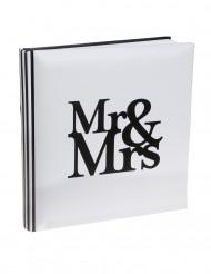 Libro delle firme Mr & Mrs