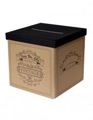 Urna vintage in cartone