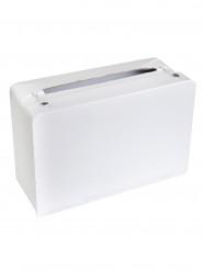 Urna a forma di valigia bianca