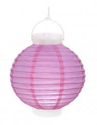 Lanterna luminosa lilla 20 cm