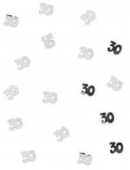 Coriandoli argentati 30 anni