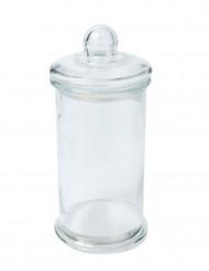Contenitore alto in vetro trasparente 27.5 cm