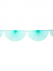 Ghirlanda di ventagli color menta
