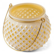 Lanterna gialla nido d'ape