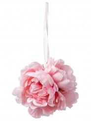 Decorazione peonie rosa
