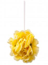 Decorazione peonia gialla