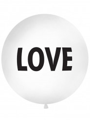 Palloncino gigante bianco Love