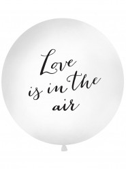Palloncino gigante bianco Love is in the air