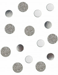 Coriandoli da tavola argento