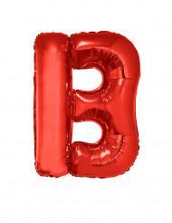 Palloncino alluminio gigante rosso lettera B