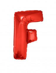 Palloncino alluminio gigante rosso lettera F