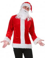 Kit travestimento da Babbo Natale per adulto