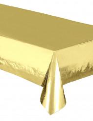 Tovaglia di plastica rettangolare oro metallizzato
