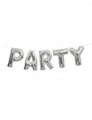 Palloncino alluminio Party argento