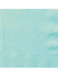 20 tovaglioli di carta color menta