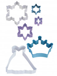6 taglia pasta principesse delle nevi