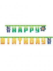 Ghirlanda Happy Birthday tema scientifico