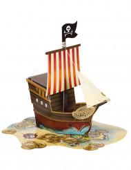 Centrotavola nave da pirata