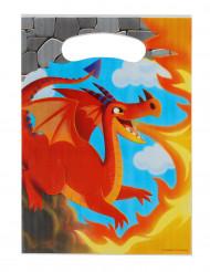 8 sacchetti con dragone