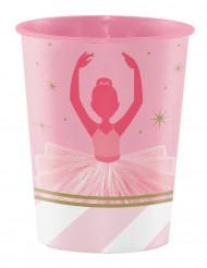 Bicchiere di plastica ballerina