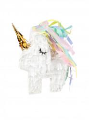 Mini pignatta unicorno bianco