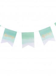 Decorazioni bandierine color menta Hooray