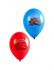 6 palloncini in lattice rossi e blu Cars™
