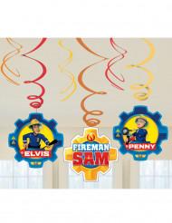 6 sospensioni a spirale Sam il pompiere™