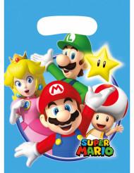 8 sacchetti per festa Super Mario™