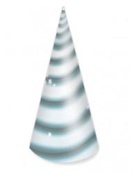 8 cappellini di compleanno unicorno