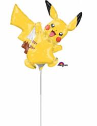 Mini palloncino in alluminio Pikachu Pokemon™ gonfiato