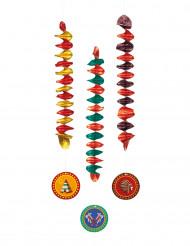 3 decorazioni da appendere indiani