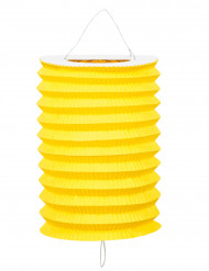12 lampioni gialli di carta 20 cm