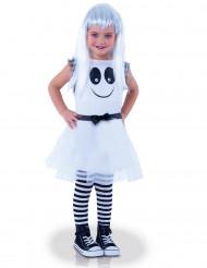 Costume da fantasma con occhi in movimento bambina