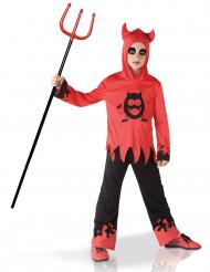 Costume da diavolo con occhi in movimento bambino