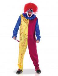 Costume da pagliaccio psicopatico per adulto