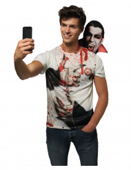 Maglia selfie con Dracula per adulti
