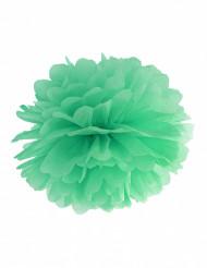 Pon pon color menta 25 cm