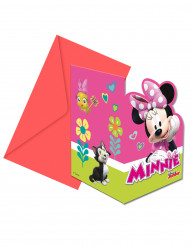 6 inviti di compleanno con buste Minnie Happy™