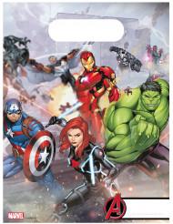 6 sacchetti in plastica Avengers Mighty™