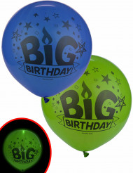 2 palloncini a LED Big birthday Illooms™