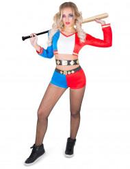 Costume arlecchino psicopatico per donna