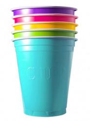 20 bicchieri colorati Americans Original Cup