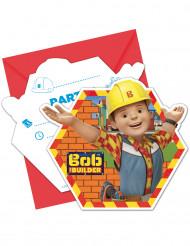 6 inviti di compleanno con buste Bob Aggiustatutto™