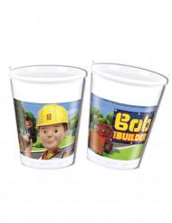 8 bicchieri di plastica Bob Aggiustatutto™