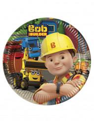 8 piattini di carta Bob Aggiustatutto™ 20 cm