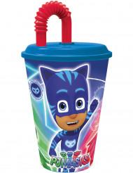 Bicchiere con cannuccia Super Pigiamini™
